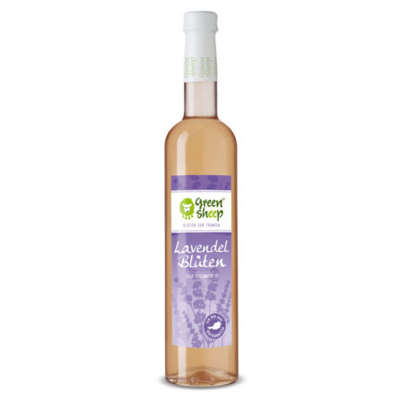 Lavendelblüten Sirup