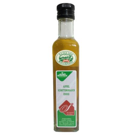 Apfel-Schnittknoblauchessig - 250ml