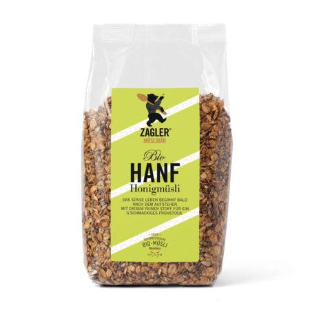 Bio-Hanf-Honigmüsli - 500g