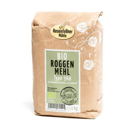Bio Roggenmehl T960 - 1kg