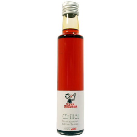 Chiliöl roter Habanero - 250ml