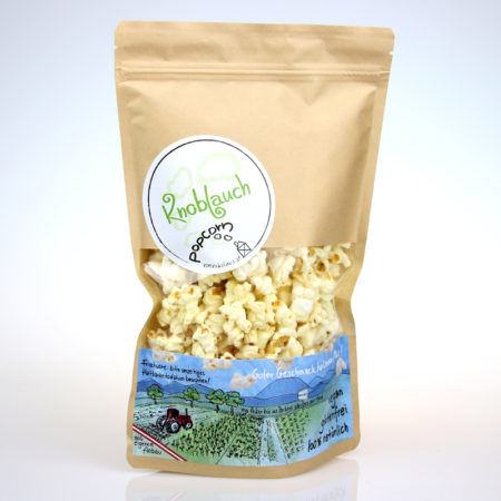 Popcorn Knoblauch - 60g