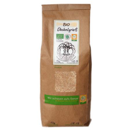 Bio Dinkelgrieß - 1kg