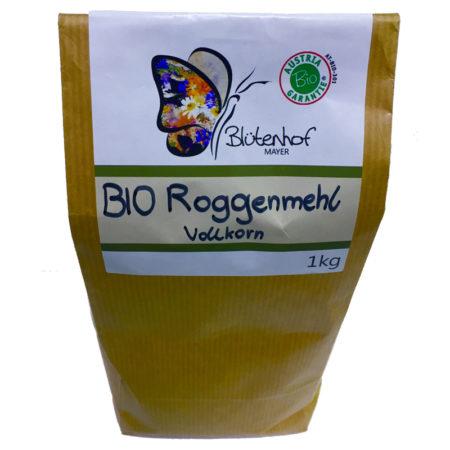 Bio Roggenmehl Vollkorn - 1kg