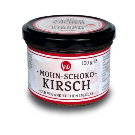 Bio Glaserlkuchen Mohn-Schoko-Kirsch - 100g