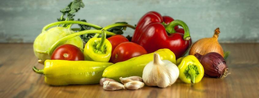 Gemüse & Eier