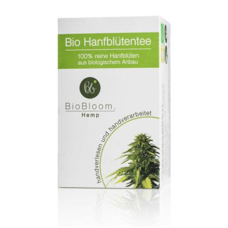 Bio Hanfblütentee Teebox - 24g