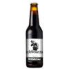 Rodauner klaner Schwoarza - obergärige unfiltrierte Bierspezialität in tiefem Schwarz