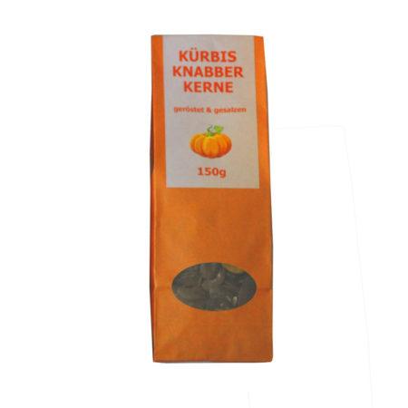 Kürbisknabberkerne geröstet und gesalzen - 150g