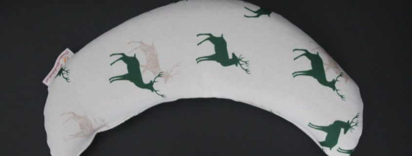 Dinkelwärmekipferl grüner Hirsch