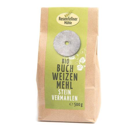 Bio Buchweizenmehl auf Stein vermahlen -500g