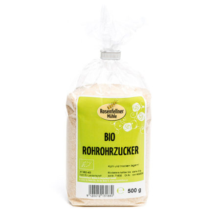 Bio Rohrohrzucker - 500g
