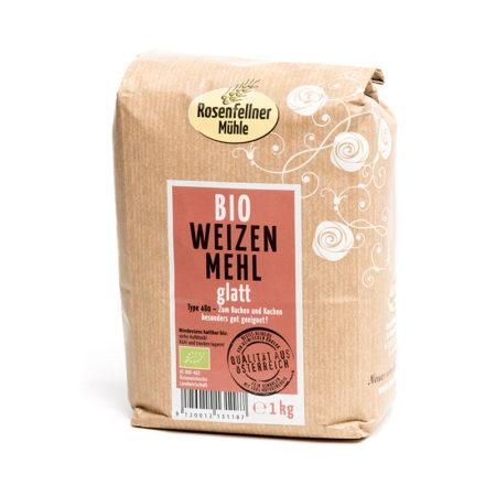 Bio Weizenmehl T480 glatt - 1kg