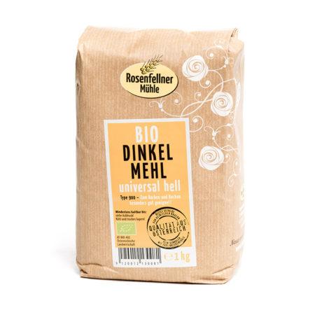 Bio Dinkelmehl universal hell - 1kg